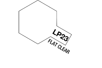 Tamiya Lacquer Paint LP-23 Flat Clear