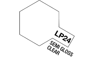 Tamiya Lacquer Paint LP-24 Semi Gloss Clear