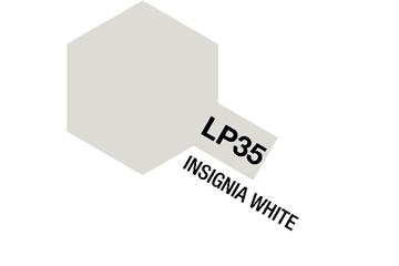 Tamiya Lacquer Paint LP-35 Insignia White
