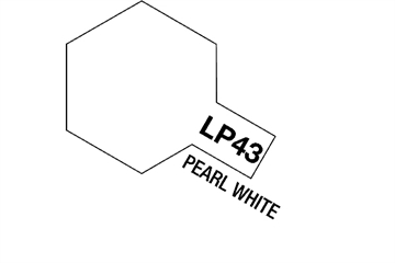 Tamiya Lacquer Paint LP-43 Pearl White
