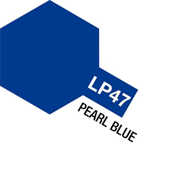 Tamiya Lacquer Paint LP-47 Pearl Blue