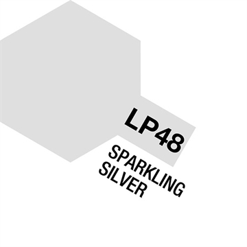 Tamiya Lacquer Paint LP-48 Sparkling Silver
