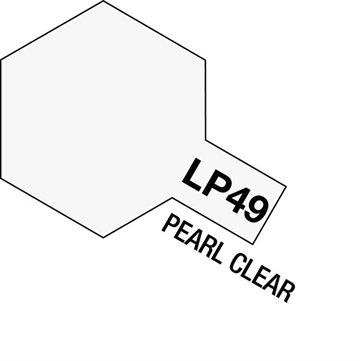 Tamiya Lacquer Paint LP-49 Pearl Clear
