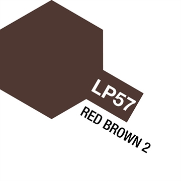 Tamiya Lacquer Paint LP-57 Red Brown 2