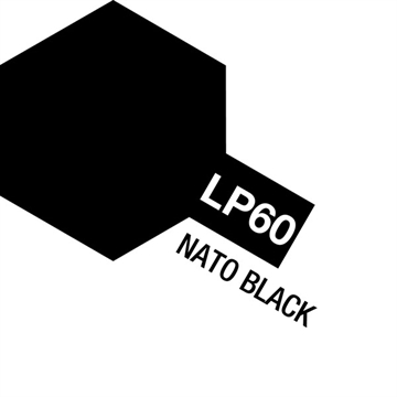 Tamiya Lacquer Paint LP-60 Nato Black