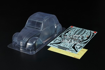1/10 Scale R/C Citroën 2CV Charleston Body Parts