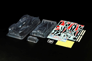 1:10 R/C TOYOTA GAZOO Racing TS050 Body Parts Set