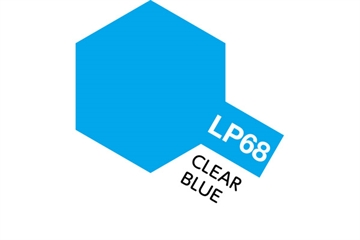 Tamiya Lacquer Paint LP-68 Clear Blue