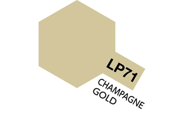 Tamiya Lacquer Paint LP-71 Champagne Gold