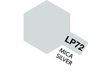 Tamiya Lacquer Paint LP-72 Mica Silver