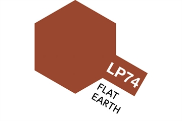 Tamiya Lacquer Paint LP-74 Flat Earth