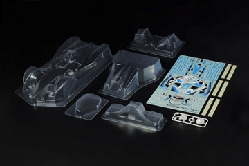 1/10 Scale R/C Formula E GEN2 Car - Body Parts Set