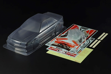 1/10 Scale R/C 1991 Audi V8 Touring Body Parts Set