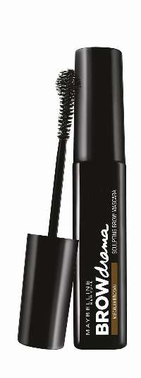 Maybelline Brow Drama Medium Brown mascara til øjenbryn Brun