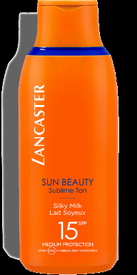 Lancaster Sun Beauty Silky Milk Sublime Tan SPF15 175ml Medium Protection