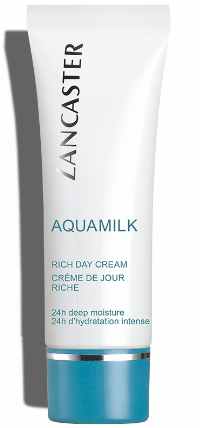 Lancaster Aquamilk Rich Day Cream 50ml Dry Skin