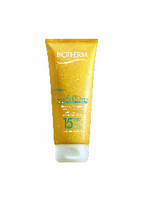 Biotherm Fluide Wet Skin SPF15 200ml Solcreme Lotion Krop