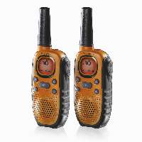 Topcom Rc-6404 To-Vejs Radio 8 Kanaler 446 Mhz Sort, Orange