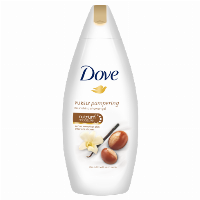 Dove Purely Pampering Shea Butter & Warm Vanilla 500ml Showergel Unisex Krop